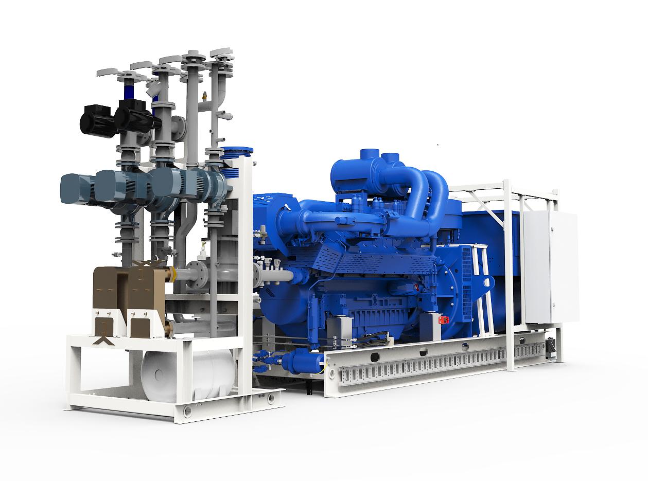 Газопоршневая электростанция (ГПУ) PowerLink TCG600S-NG